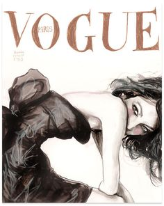 Vogue fashion Illustration by Danny Roberts. #cheatongreek #contest