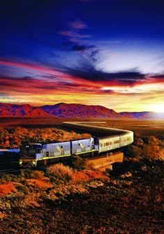Inter-rail across Australia