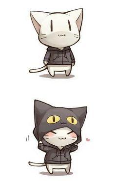 now im a black cat ^^