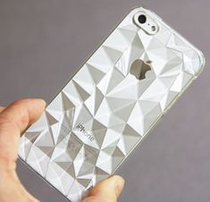 Multi Faceted CLEAR iPhone 5s Case. Own & love. Looks awesome on the 'Champagne' 5s.