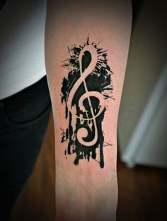music-tattoos-15   tatuajes | Spanish tatuajes  |tatuajes para mujeres | tatuajes para hombres  | diseños de tatuajes http://amzn.to/28PQlav