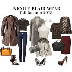 """Fall Fashion 2013"" by nicoleblairwear on Polyvore"