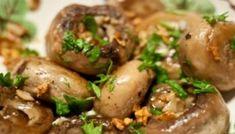 RETETA de ciuperci cu usturoi. Irezistibile in Postul Pastelui