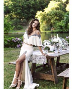 Style #93156 #tarikediz #newcollection #romantic #ss17