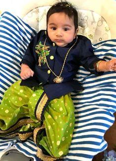Sparkling Fashion: Designer Dhoti kurta for boys/ kids/ Bridegrooms online Kids Indian Wear, Kids Ethnic Wear, Indian Baby, Traditional Dress For Boy, Baby Boy Fashion, Kids Fashion, Baby Boy Dress, Baby Dresses, Kids Wear Boys
