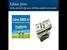 Ansök direkt om lån på 500 kr