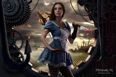 My latest photography shoot based on the XBox game Dark Alice (Alice in Wonderland). Dark Alice In Wonderland, Alice In Wonderland Costume, What Is Cosplay, Alice In Wonderland Photography, Vampire The Masquerade Bloodlines, Real Costumes, Alice Madness Returns, Professional Portrait, Commercial Photography