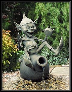Absolutely love David Goode sculptures. Wish I could put some in my garden.