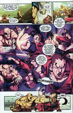 Street Fighter Unlimited Issue #8 - Read Street Fighter Unlimited Issue #8 comic…