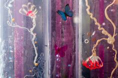 Adventure Sculpture by Jessica Zoob & Karl Smith Installation Art, Butterflies, Swarovski Crystals, Mixed Media, Resin, Sculpture, Adventure, Fine Art, Steel