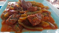 Φασολάκια με κρέας !! ~ ΜΑΓΕΙΡΙΚΗ ΚΑΙ ΣΥΝΤΑΓΕΣ