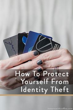 sharing How To Protect Yourself From Identity Theft so you never have to deal with the trauma and headaches others have had to deal with Identity Theft Prevention, Identify Theft, Lexington Law, Cyber Safety, Identity Protection, Credit Bureaus, Coffee Blog, Computer Security