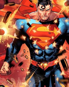 Superman by Jorge Jimenez Superman Comic, Superman Artwork, Superman Wallpaper, Superman Stuff, Superman Man Of Steel, Superman Wonder Woman, Dc Comics Art, Marvel Dc Comics, Cosmic Comics