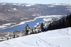 Marble Mountain Resort, just north of Corner Brook. History of the Trans-Canada Highway across Newfoundland, from Corner Brook to Grand Falls-Windsor Newfoundland Canada, Newfoundland And Labrador, Trans Canada Highway, Destinations, Mountain Resort, Snow Skiing, East Coast, Wonderful Places, Explore