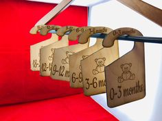 Super Excited to share the latest addition to my shop: Closet organization hangers, think new baby gift! Check it out! Newborn Baby Gifts, New Baby Gifts, Teddy Bear Images, Baby Closet Organization, Simple Closet, Handmade Items, Handmade Gifts, New Moms, New Baby Products