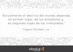 Una gran frase que define perfectamente la importancia de la #traducción e #interpretación-