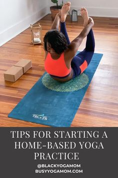 Start practicing yoga at home with these tips from a yoga teacher! Yoga Playlist, Yoga For Beginners, Beginner Yoga, Free Yoga Classes, Home Yoga Practice, Travel Yoga Mat, Yoga Mom, At Home Workouts, Yoga Workouts