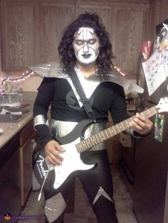Tommy Thayer from Kiss , Halloween Costume Contest