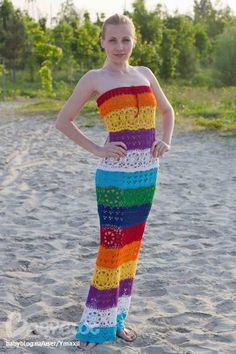Сарафан радуга для себя любимой – BabyBlog.ru