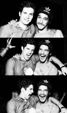 Daniel Sharman and Tyler Posey from Teen Wolf