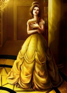 beauty and the beast is one of my favorite disney movies! Belle is so beautiful