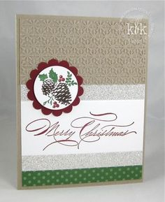 Pines & Poinsettias  - Stampin' Up!