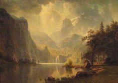 Bierstadt, Albert - Dans les montagnes - Wadsworth Atheneum, Hartford