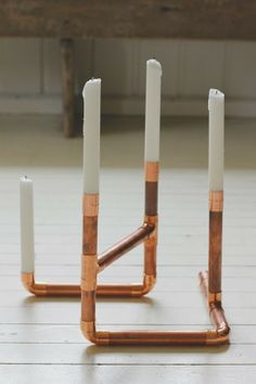 DIY Furniture from Copper Pipes