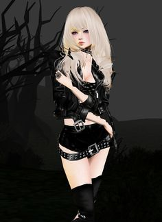 On IMVU you can customize avatars and chat rooms using millions of products available in the virtual shop and meet people from around the world. Capture the fun you are having and share it with others via the Photo Stream. Bodysuit Lingerie, Lace Bodysuit, Blonde Goth, 90s Platform Shoes, Lace Up Leggings, Taylor Momsen, Never Too Late, Current Mood, Lace Design