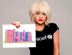 Rita Ora A1 Hairstyles,HairCut And HairColor 2014