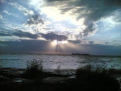 Sunset at Colonia de Uruguay