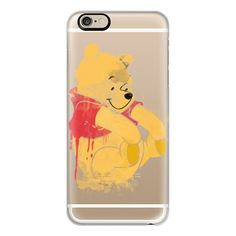 iPhone 6 Plus/6/5/5s/5c Case - Winnie the pooh ($40) ❤ liked on Polyvore featuring accessories, tech accessories, iphone case, apple iphone cases, iphone cover case and slim iphone case
