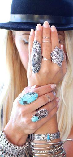 Boho style jewelry  #weloveboho#boho#bohemian#gypsy#freespirit#fashion#moda#jewelry
