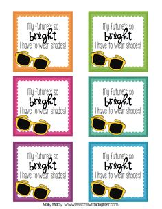 Lessons with Laughter: Sunglasses: End of the Year Student Gift Freebie! Preschool Graduation Gifts, 5th Grade Graduation, Graduation Theme, Preschool Gifts, Kindergarten Graduation, Graduation Ideas, Kindergarten Gifts, Preschool Printables, Preschool Ideas