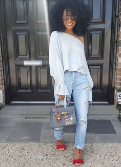For the health of your betta you should know the Casual Fall Outfit smart ideas (but lovely) design and style girls will probably be dressing this season. casual fall outfits for women Tomboy Fashion, Black Women Fashion, Fashion Outfits, Womens Fashion, Tomboy Chic, Fashion 2018, Fashion Trends, Looks Rihanna, Looks Style