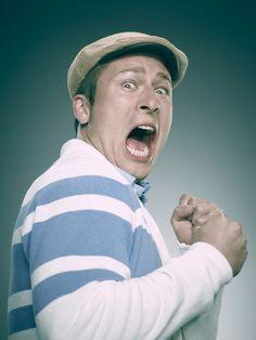 Glen Powell as Chad Radwell in Scream Queens.