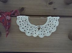Hand Crocheted Vintagestyle Collar by CutupProductions on Etsy, £10.00