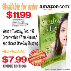 Sweetest Taboo: A novel Tabu, D Day, Kindle, Novels, Free, Fiction, Romance Novels