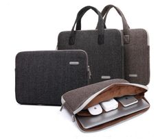 """Nylon 11""""13""""14""""15""""17"""" Laptop Handle Sleeve Carry PC Bag Case For Macbook Acer HP"""
