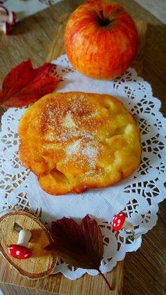 Apfelpfannkuchen Rezept: M,Zucker,Mehl,Backpulver,Milch,Äpfel,Sonnenblumenöl