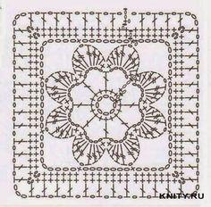 square croche quadrado - Pesquisa Google