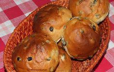 krentenbollen bakken in broodbakmachine - recepten zoeken op Volrecepten.nl