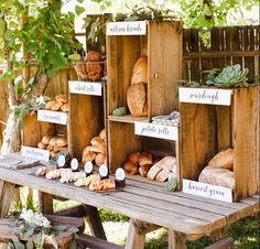 DIY Bread & Butter Bar