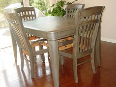 ➹10 Rad Redos: Kitchen Table Makeovers➷ | Stains, Awesome and 2!