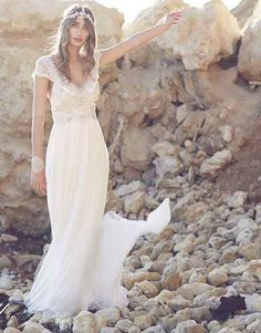 Runway trend: Anna Campbell Wedding Dresses