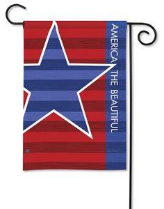 Magnet Works Garden Flag - Patriot Decorative flag at Garden House Flag at GardenHouseFlags