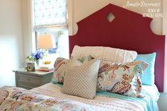 Cottage style decorating ideas from Jennifer Decorates.com