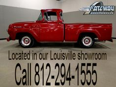 1957 Ford F100   - Stock #408-LOU