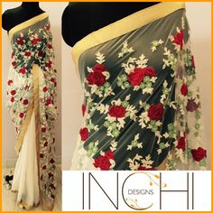 : New Launch Party Wear Georgette Embroidery Designer Saree Collection ~ My Shop Open - Online Wholesale & Reseller Indian's Most Boooking. Designer Sarees Collection, Saree Collection, Indian Attire, Indian Wear, Indian Dresses, Indian Outfits, Designer Sarees Online Shopping, Embroidery Saree, Hand Embroidery