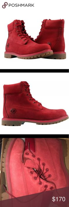 Timberland premium ruby women boots size 6 Brand new in box. 6in waterproof boots. Limited release Timberland Shoes Winter & Rain Boots